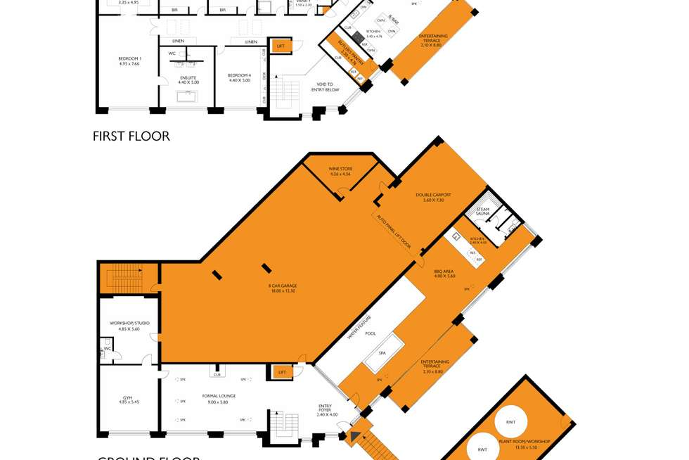 Floorplan of Homely house listing, 20 Travers Drive, Beaumont SA 5066