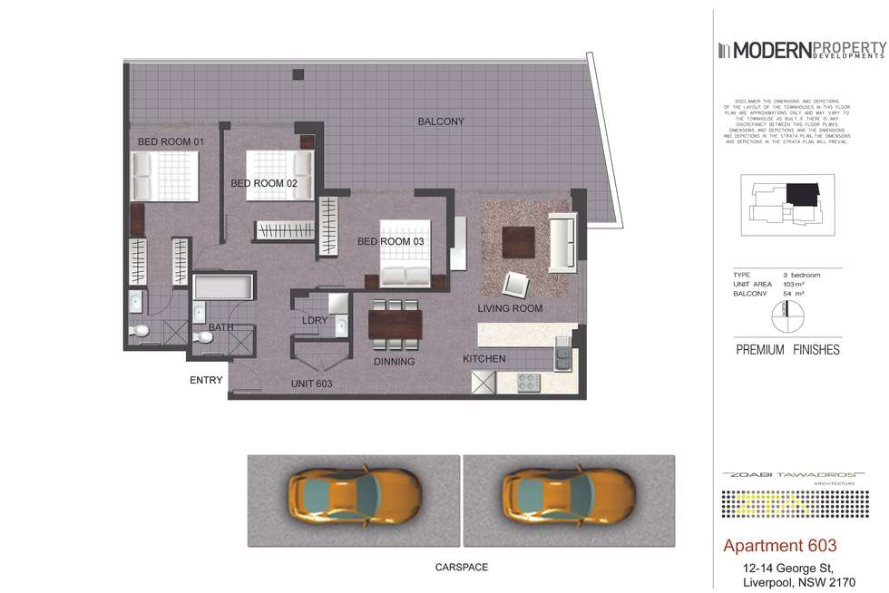 Floorplan of Homely unit listing, 32/12-14 George Street, Liverpool NSW 2170
