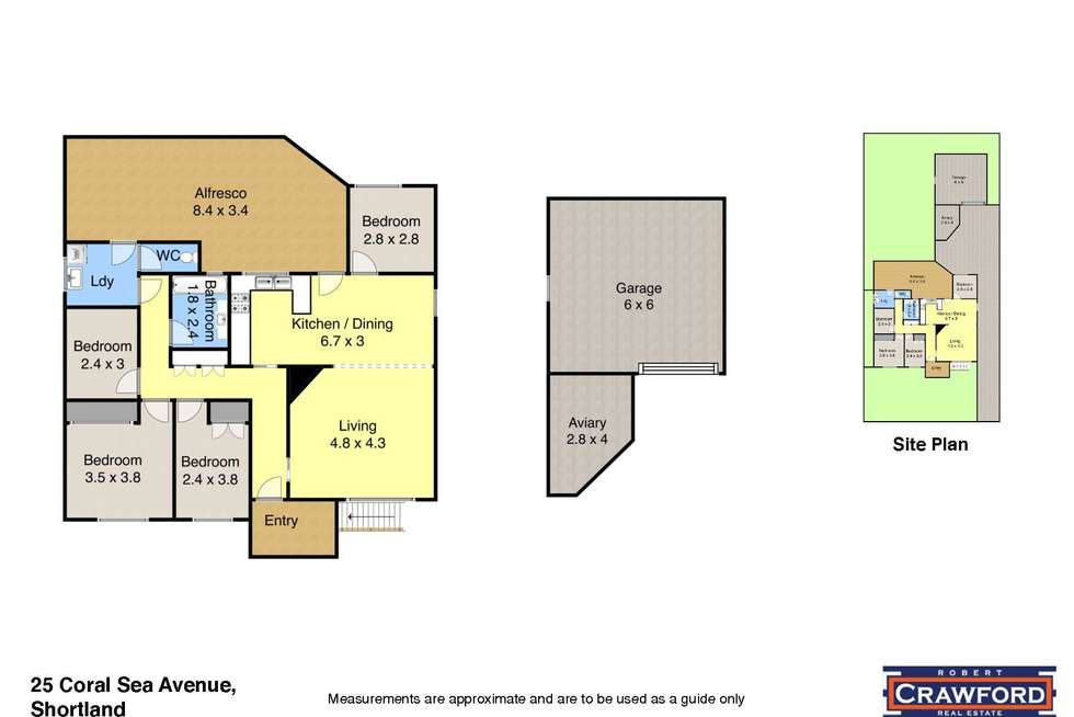 Floorplan of Homely house listing, 25 Coral Sea Avenue, Shortland NSW 2307