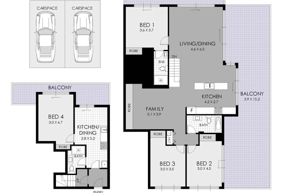 Floorplan of Homely apartment listing, 61/79 Beaconsfield Street, Silverwater NSW 2128