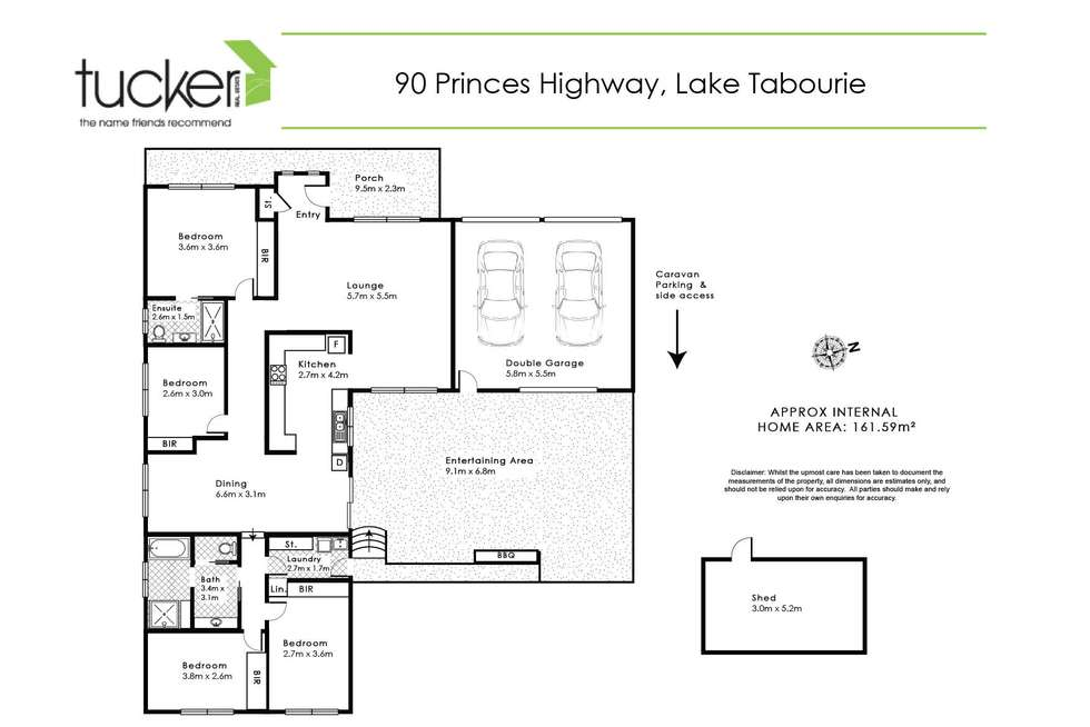Floorplan of Homely house listing, 90 Princes Highway, Lake Tabourie NSW 2539