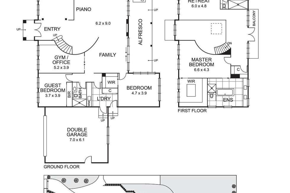 Floorplan of Homely house listing, 18 Bamfield Close, Templestowe VIC 3106