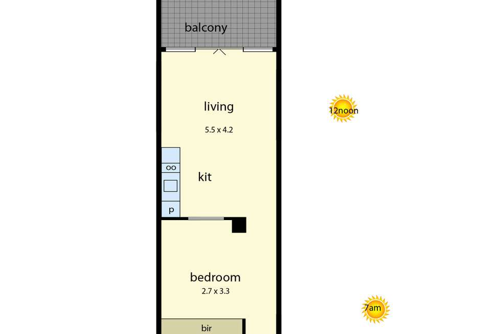 Floorplan of Homely apartment listing, 101/435-437 Nepean Highway, Frankston VIC 3199