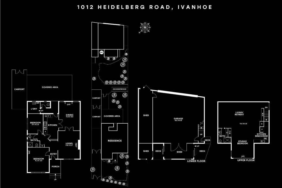 Floorplan of Homely house listing, 1012 Heidelberg Road, Ivanhoe VIC 3079