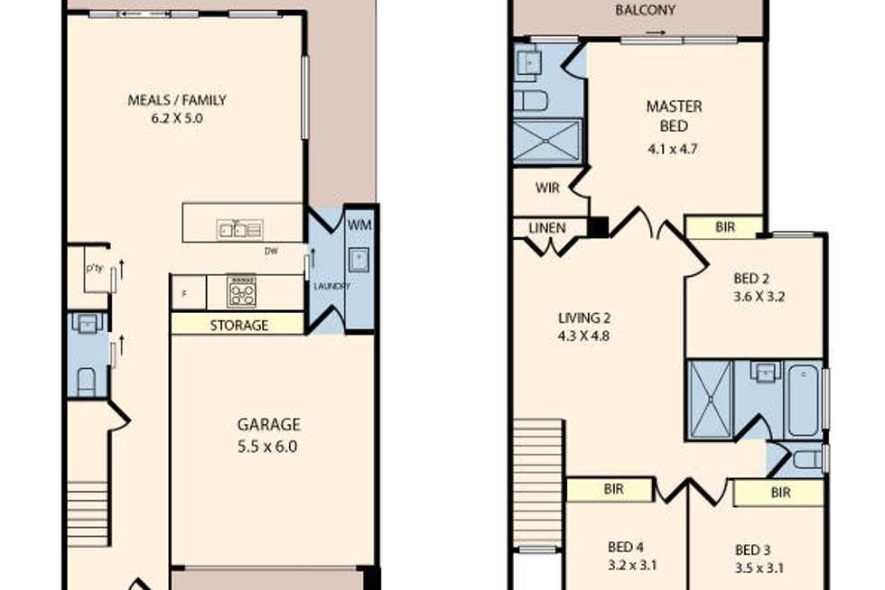 Floorplan of Homely house listing, 19 Champa Road, Sunshine West VIC 3020