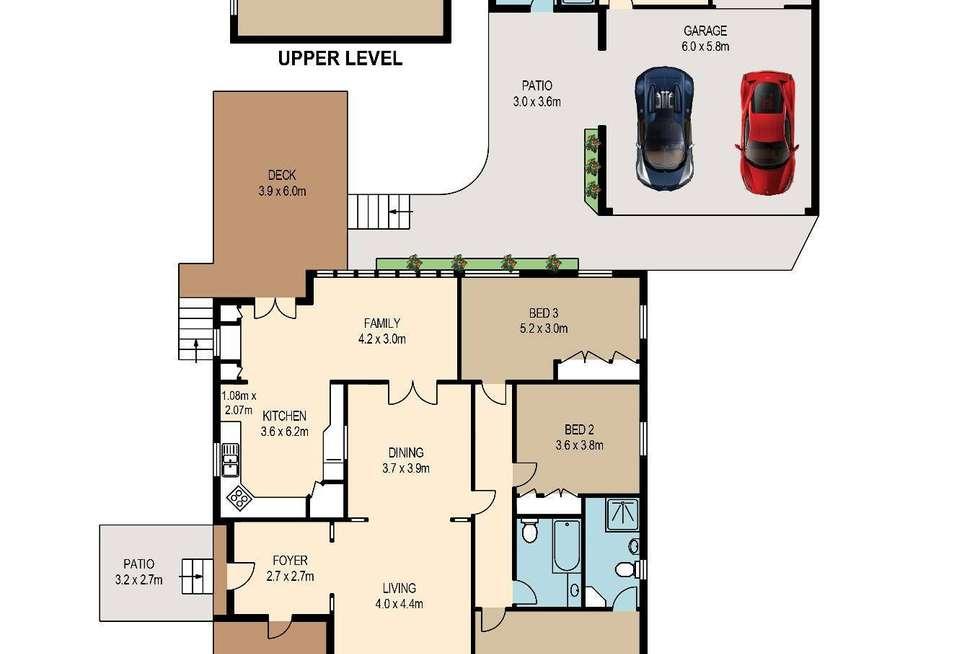 Floorplan of Homely house listing, 32 Hazelmere Parade, Sherwood QLD 4075