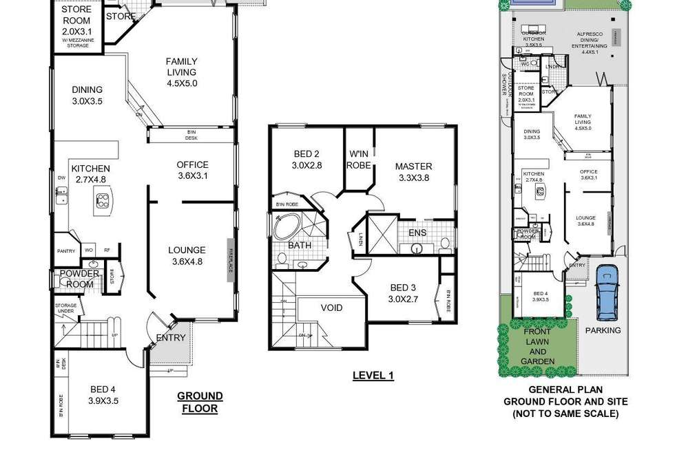 Floorplan of Homely house listing, 11 Surfers Parade, Freshwater NSW 2096