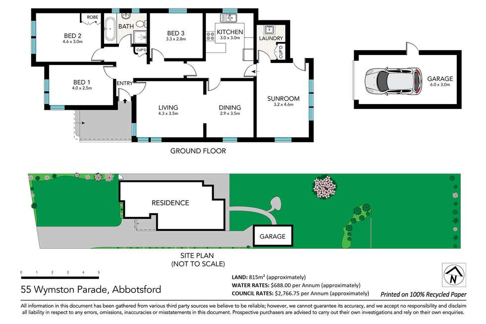 Floorplan of Homely house listing, 55 Wymston Parade, Abbotsford NSW 2046