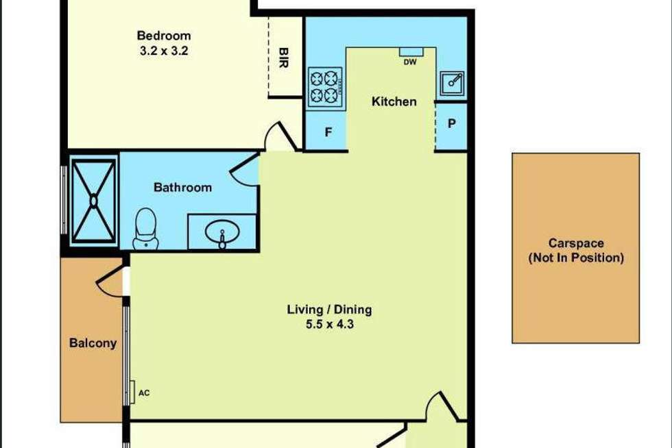 Floorplan of Homely apartment listing, 5/10 Schild Street, Yarraville VIC 3013