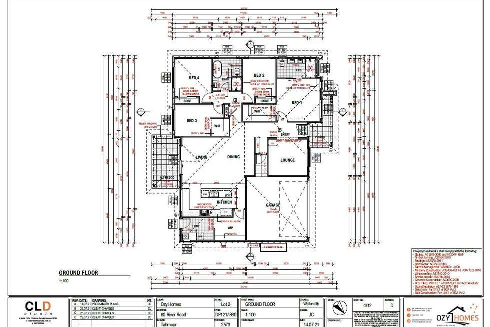 Floorplan of Homely house listing, 62 River Road, Tahmoor NSW 2573