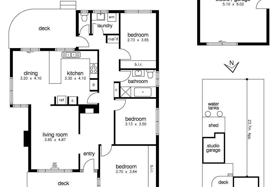 Floorplan of Homely house listing, 49 Murray Street, Sunshine West VIC 3020