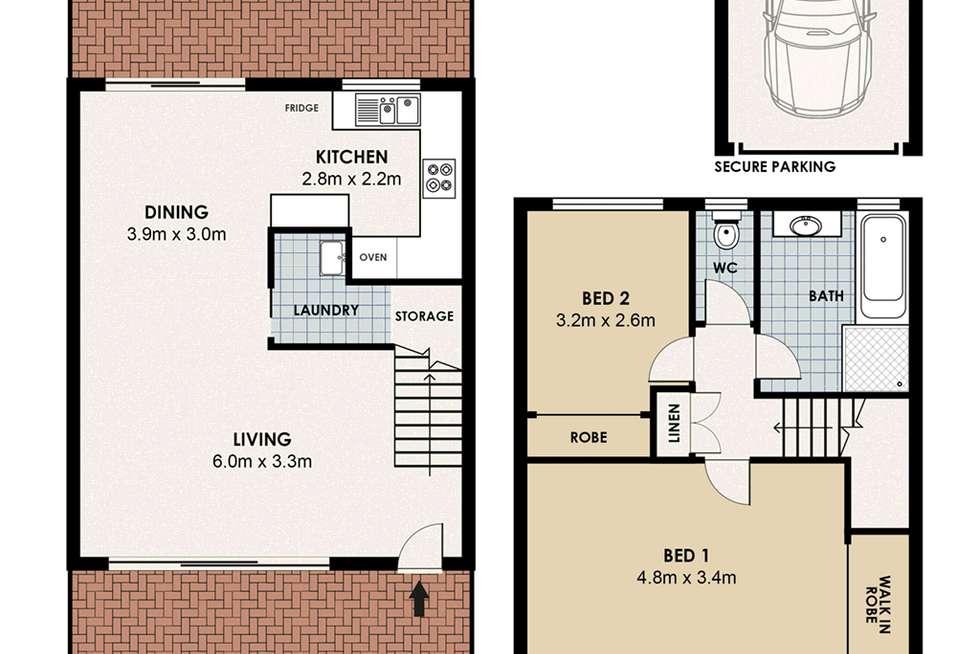 Floorplan of Homely unit listing, 5/108 Crimea Road, Marsfield NSW 2122