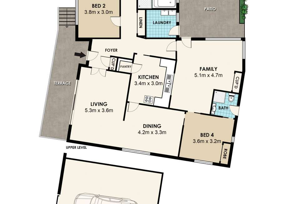 Floorplan of Homely house listing, 12 Arkena Avenue, Epping NSW 2121