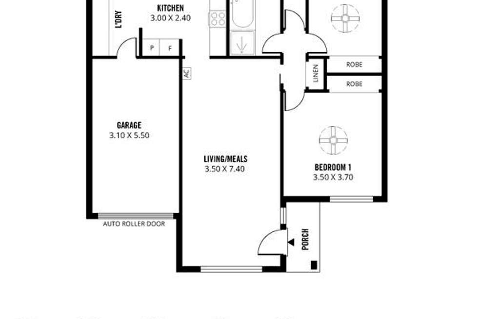 Floorplan of Homely unit listing, 3/204 Payneham Road, Evandale SA 5069