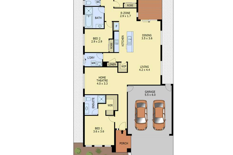 Floorplan of Homely house listing, 18 Bottletree Road, Botanic Ridge VIC 3977