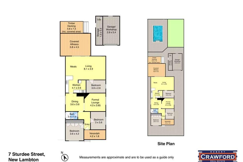Floorplan of Homely house listing, 7 Sturdee Street, New Lambton NSW 2305
