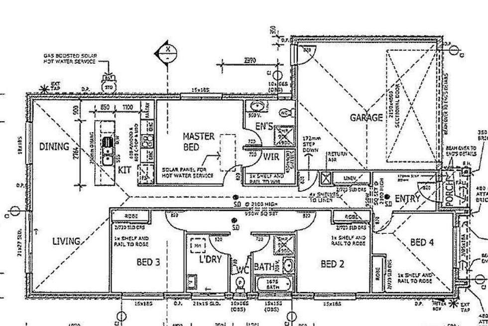 Floorplan of Homely house listing, 6 Circuit Drive, Truganina VIC 3029