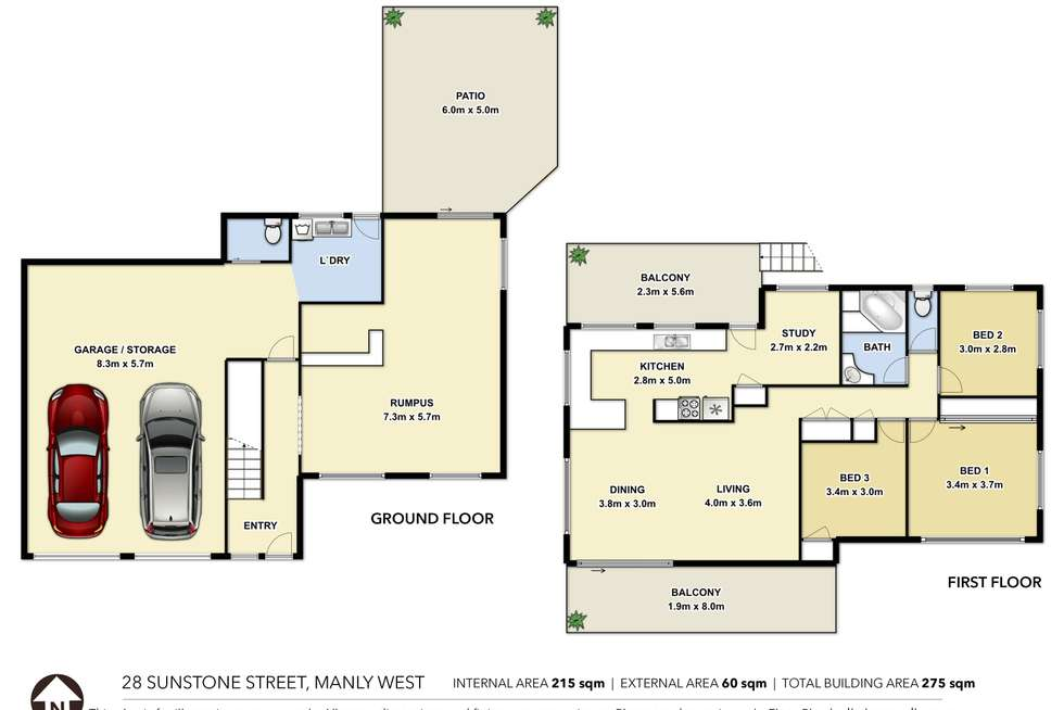 Floorplan of Homely house listing, 28 Sunstone Street, Manly West QLD 4179