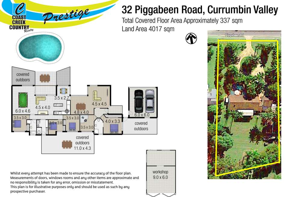 Floorplan of Homely house listing, 32 Piggabeen Road, Currumbin Valley QLD 4223