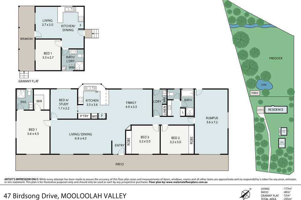Floorplan of Homely house listing, 47 Birdsong Drive, Mooloolah Valley QLD 4553
