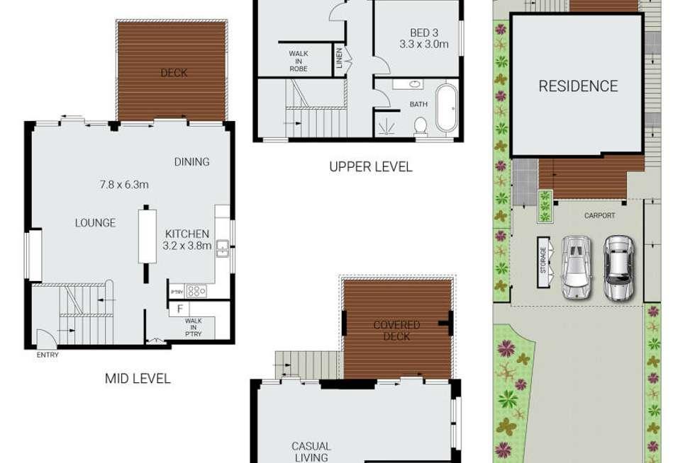 Floorplan of Homely house listing, 5 Barrabooka Street, Clontarf NSW 2093