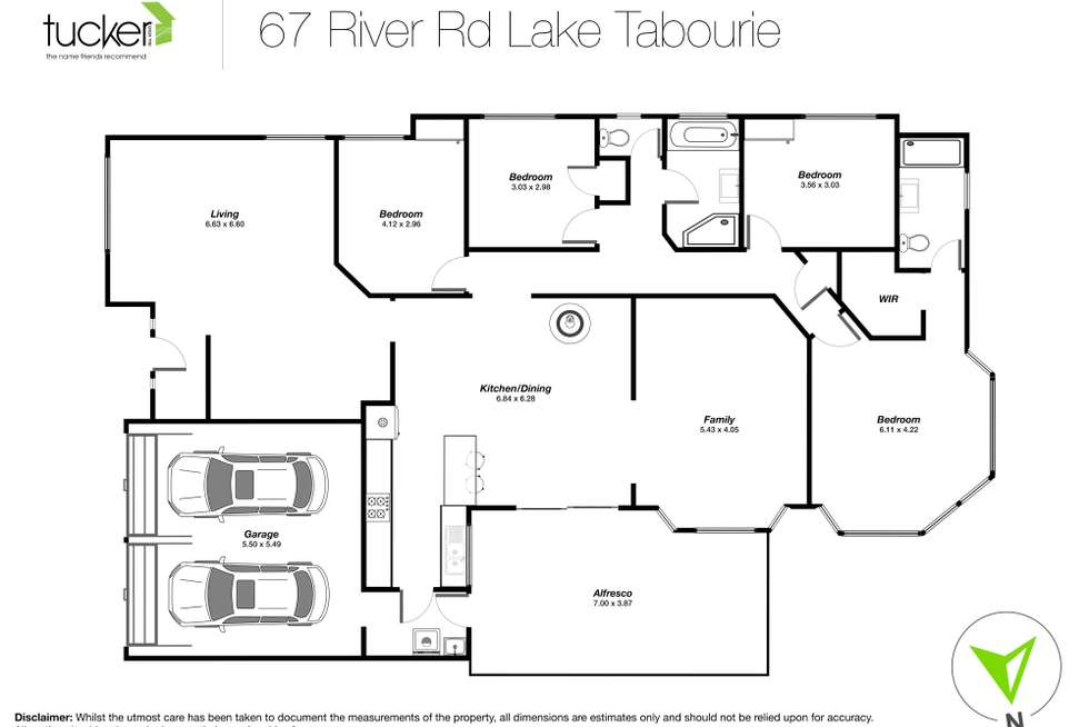 Floorplan of Homely house listing, 67 River Road, Lake Tabourie NSW 2539