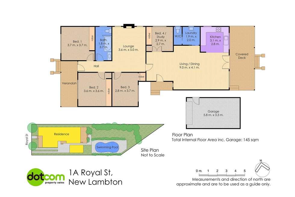 Floorplan of Homely house listing, 1A Royal Street, New Lambton NSW 2305