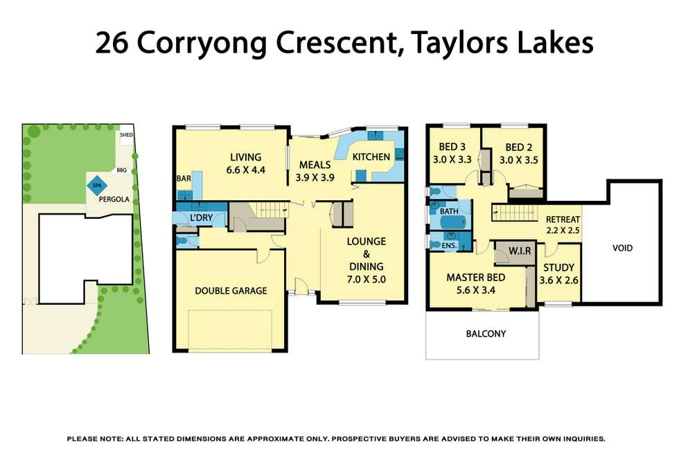Floorplan of Homely house listing, 26 Corryong Crescent, Taylors Lakes VIC 3038