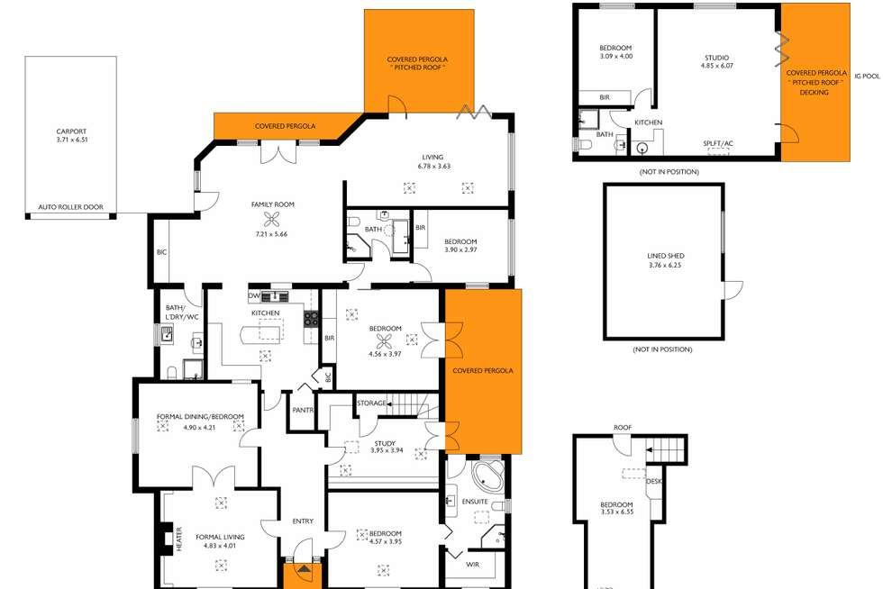 Floorplan of Homely house listing, 10 Lorraine Avenue, Clarence Park SA 5034