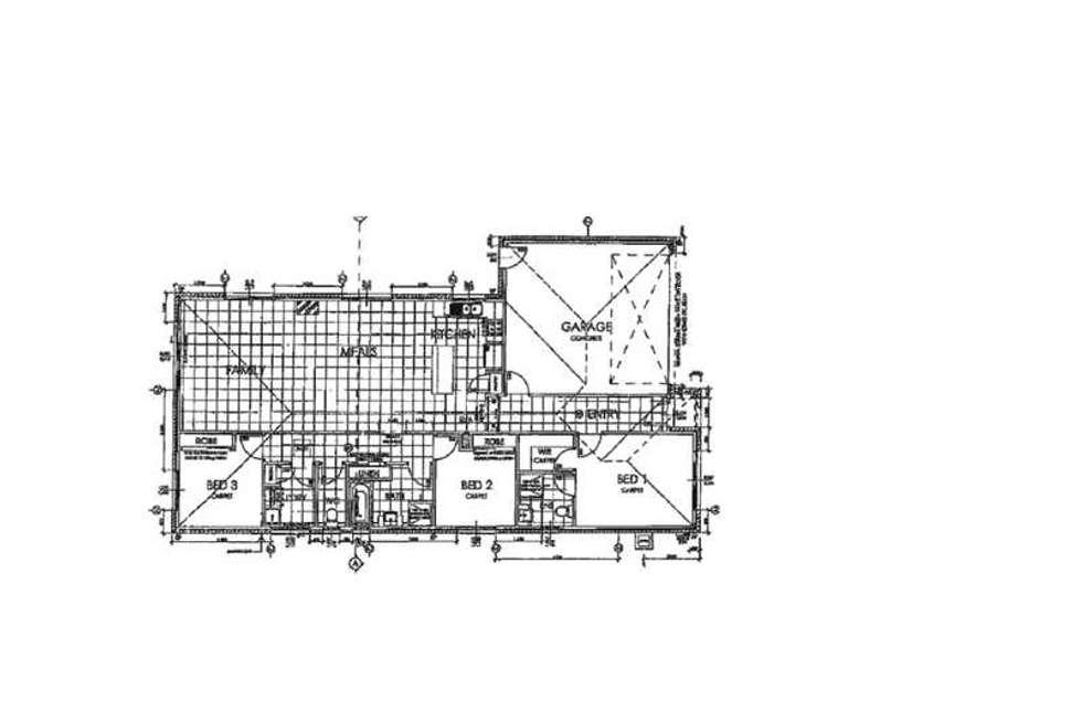 Floorplan of Homely house listing, 62 Fallingwater Drive, Pakenham VIC 3810