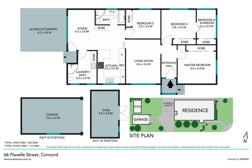 Floorplan of Homely house listing, 66 Flavelle Street, Concord NSW 2137