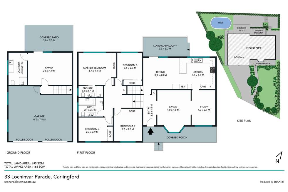 Floorplan of Homely house listing, 33 Lochinvar Parade, Carlingford NSW 2118