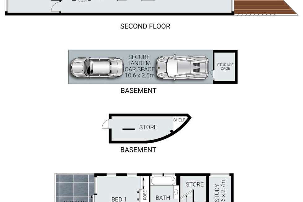Floorplan of Homely apartment listing, 114/517 Pittwater Road, Brookvale NSW 2100