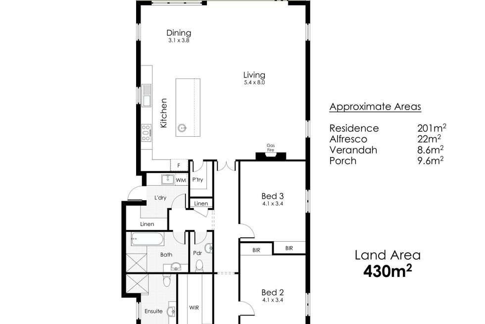 Floorplan of Homely house listing, 26 Hilda Street, Shenton Park WA 6008