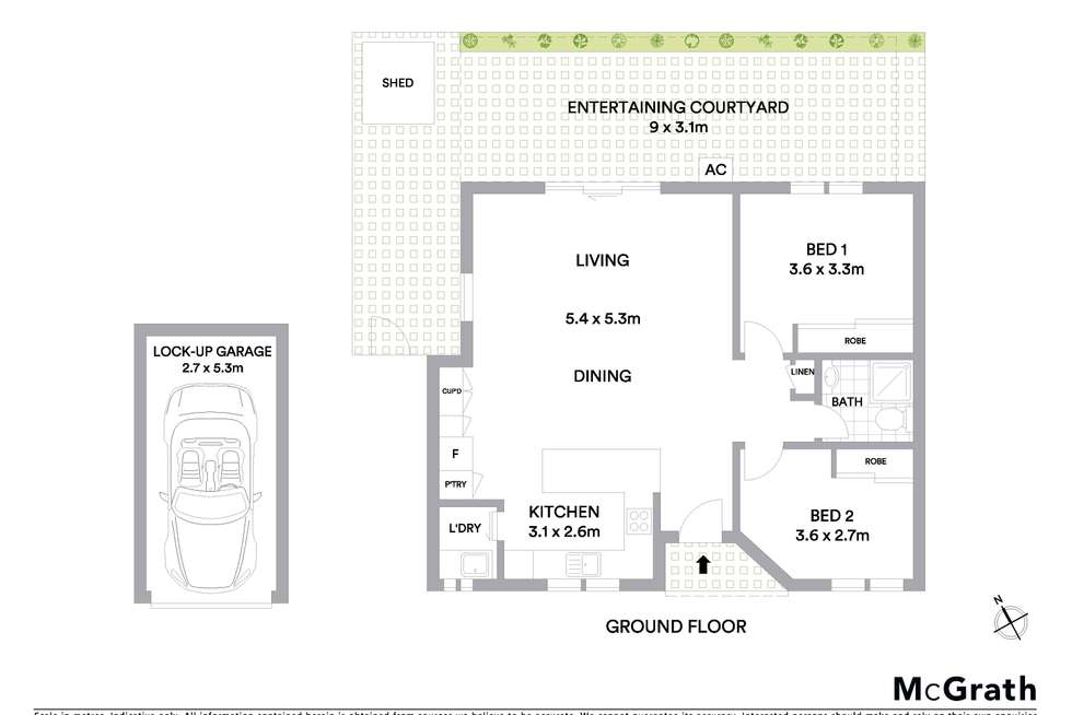 Floorplan of Homely villa listing, 1/28-30 Cheddar Street, Blakehurst NSW 2221