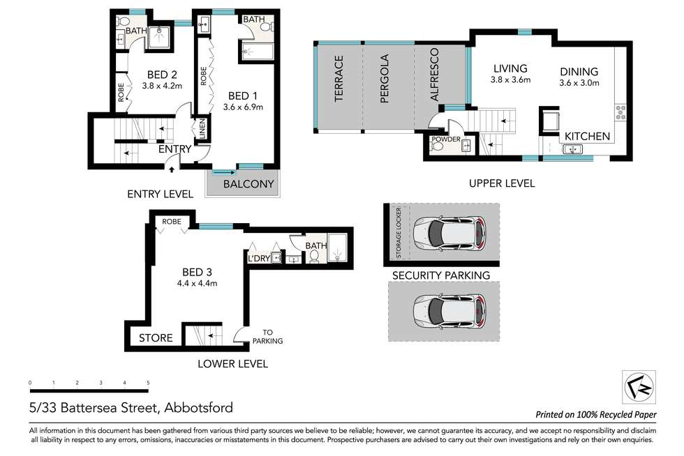 Floorplan of Homely apartment listing, 5/33-35 Battersea Street, Abbotsford NSW 2046