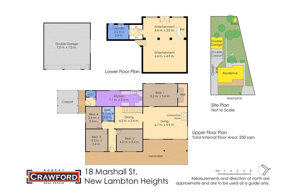 Floorplan of Homely house listing, 18 Marshall Street, New Lambton Heights NSW 2305