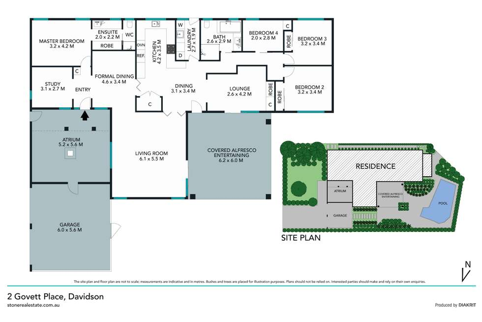 Floorplan of Homely house listing, 2 Govett Place, Davidson NSW 2085