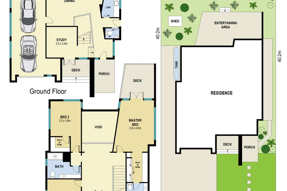 Floorplan of Homely house listing, 88 Edmondstone Street, Newmarket QLD 4051