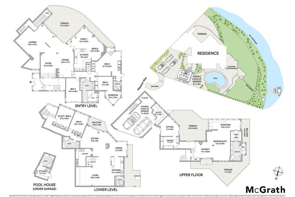 Floorplan of Homely house listing, 36 Pleasant Way, Blakehurst NSW 2221