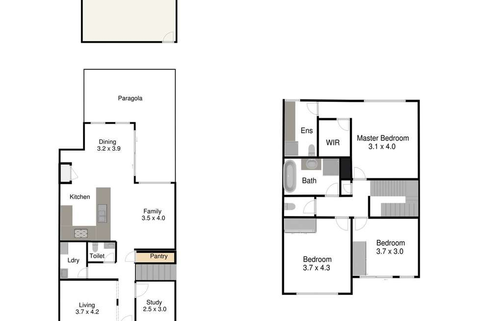 Floorplan of Homely house listing, 23 Lincolnheath Boulevard, Point Cook VIC 3030