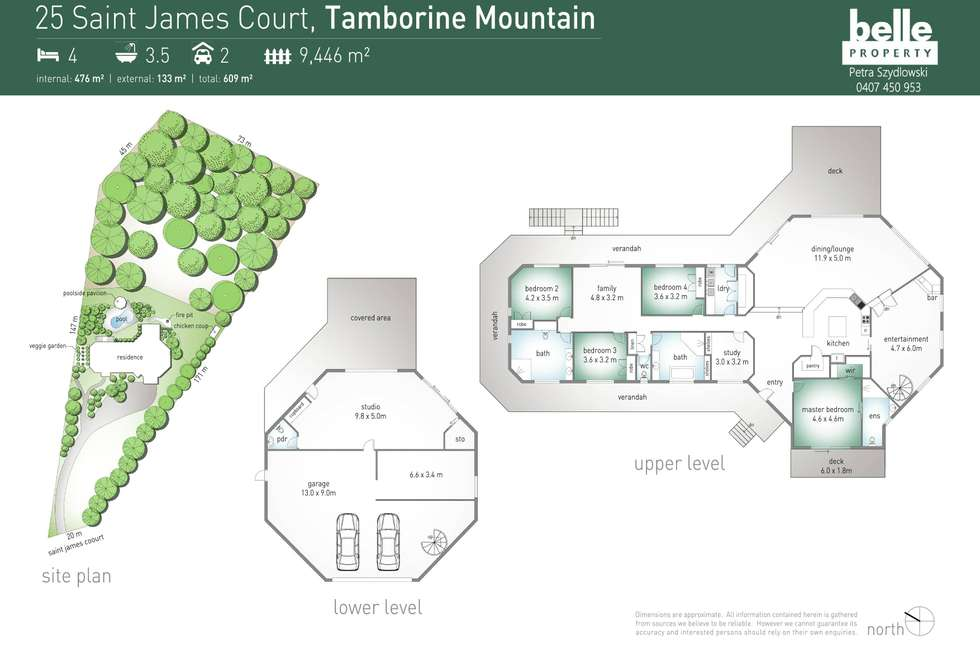 Floorplan of Homely house listing, 25 St James Court, Tamborine Mountain QLD 4272
