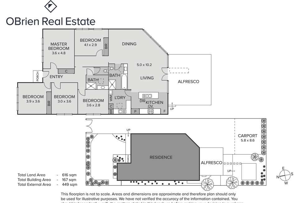 Floorplan of Homely house listing, 30 Weymar Street, Cheltenham VIC 3192