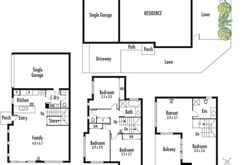Floorplan of Homely house listing, 361 Princes Highway, Noble Park VIC 3174