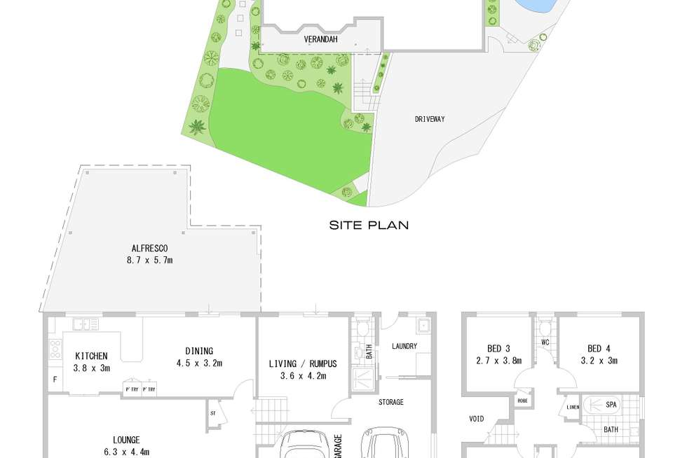 Floorplan of Homely house listing, 19 Linda Avenue, Bass Hill NSW 2197