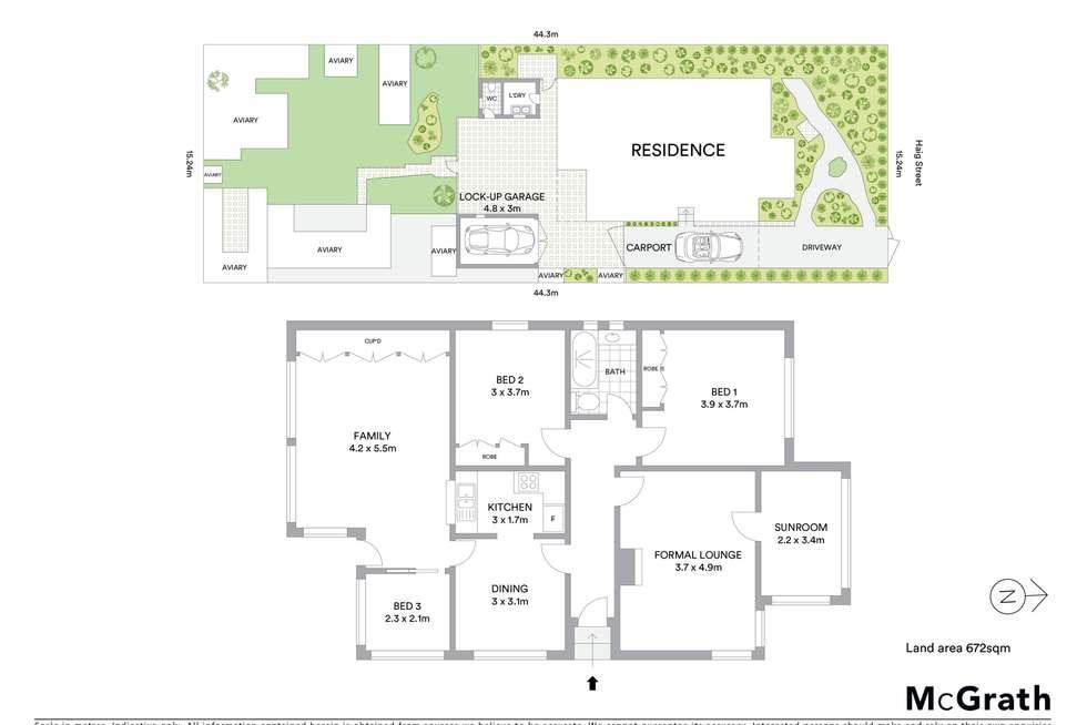 Floorplan of Homely house listing, 26 Haig Street, Wentworthville NSW 2145
