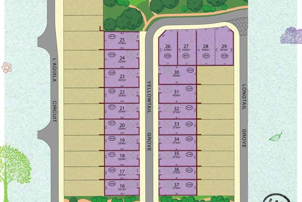 Floorplan of Homely residentialLand listing, LOT 22 Yellowtail Grove, Beeliar WA 6164