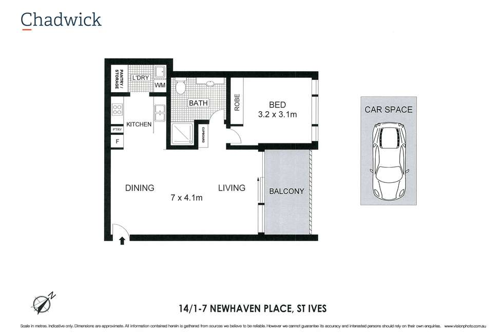 Floorplan of Homely apartment listing, 14/1-7 Newhaven Place, St Ives NSW 2075