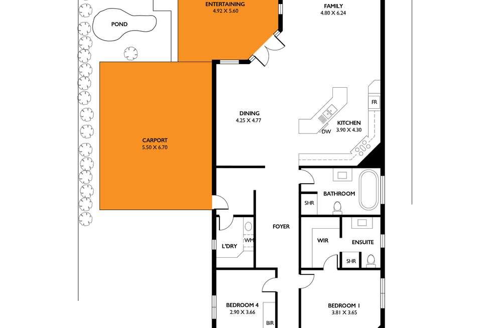 Floorplan of Homely house listing, 54 Penang Avenue, Colonel Light Gardens SA 5041