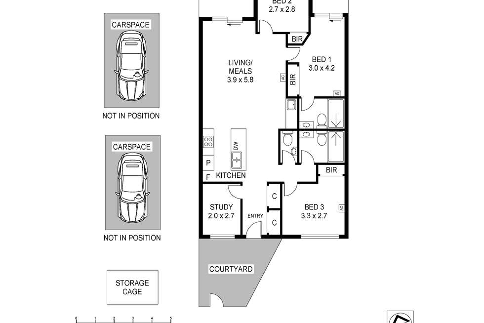 Floorplan of Homely apartment listing, 322/111 Canning Street, North Melbourne VIC 3051